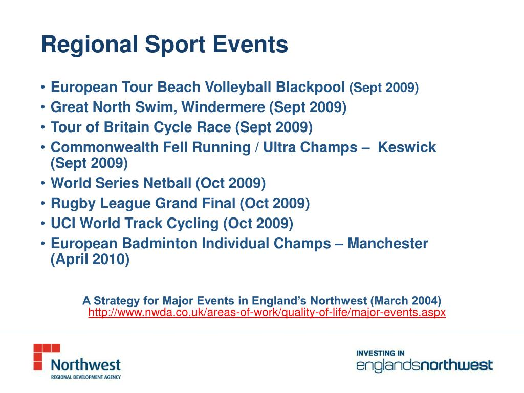 Regional Sport Events