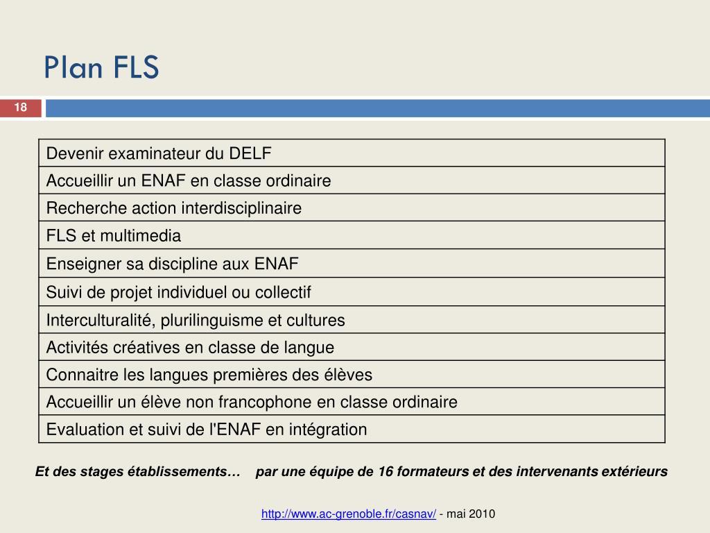 Plan FLS