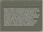 education for sustainable development13