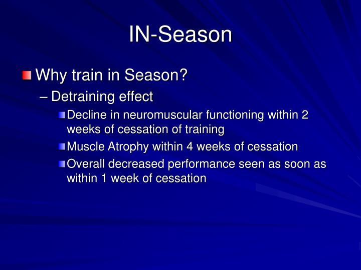 IN-Season