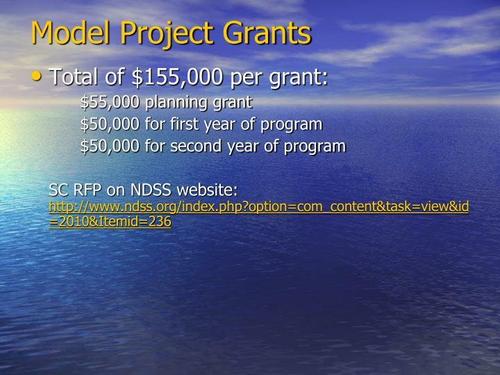 Model Project Grants
