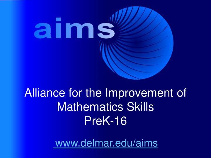 www.delmar.edu/aims