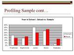 profiling sample cont1
