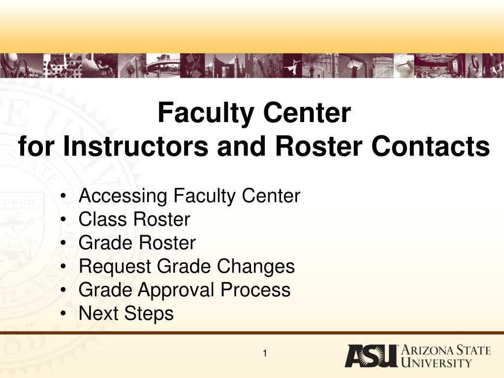 Faculty Center
