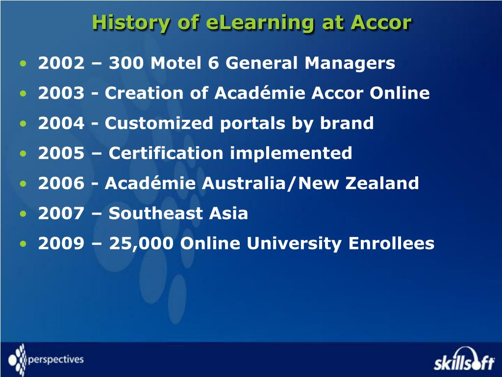 Ppt re inventing learning at motel 6 debbie ascenzo sr - Accor australia head office ...