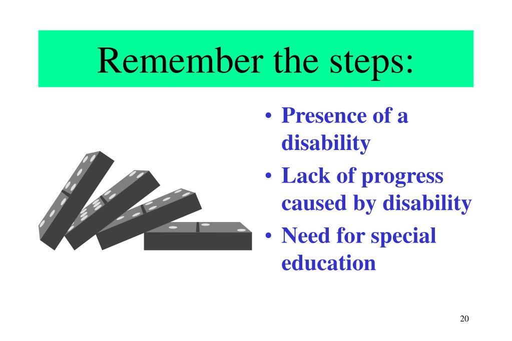 Remember the steps: