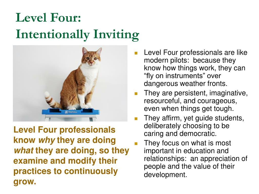 Level Four: