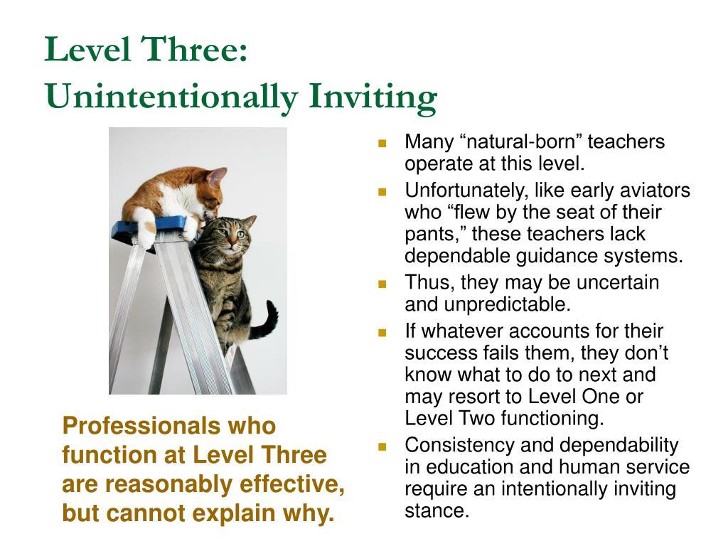 Level Three: