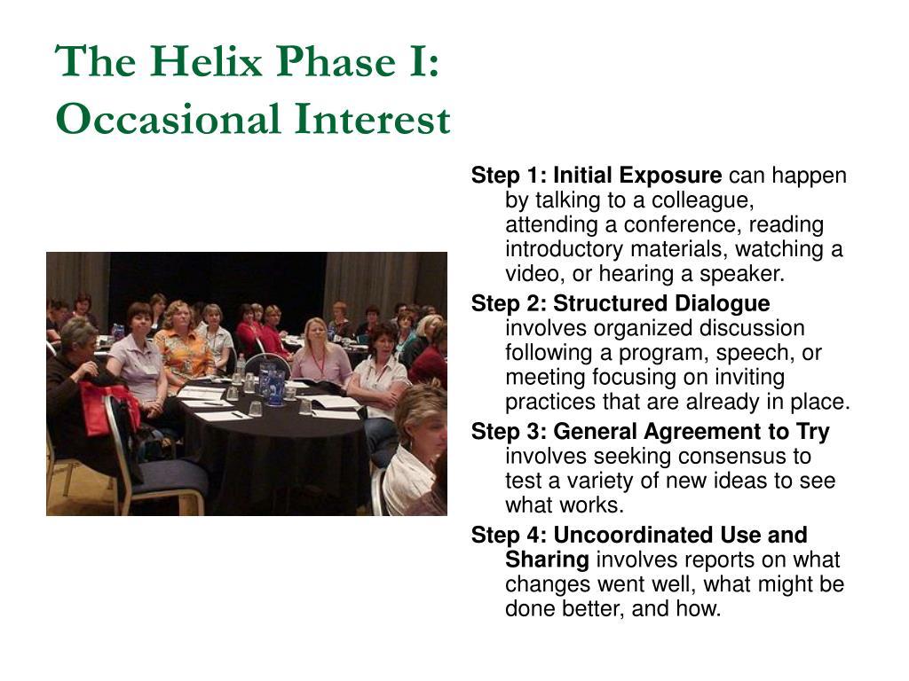 The Helix Phase I: