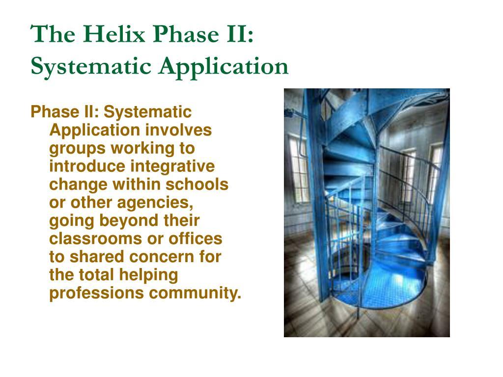 The Helix Phase II: