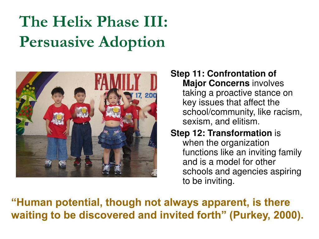The Helix Phase III: