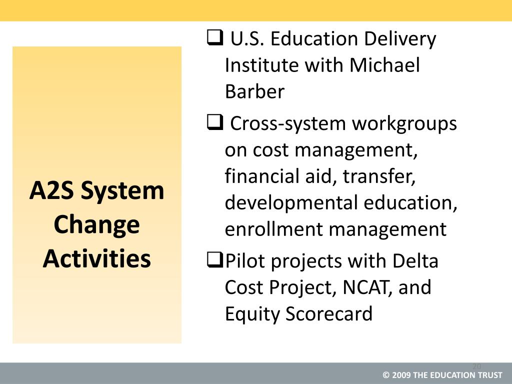 U.S. Education Delivery Institute with Michael Barber