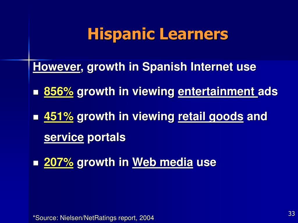 Hispanic Learners
