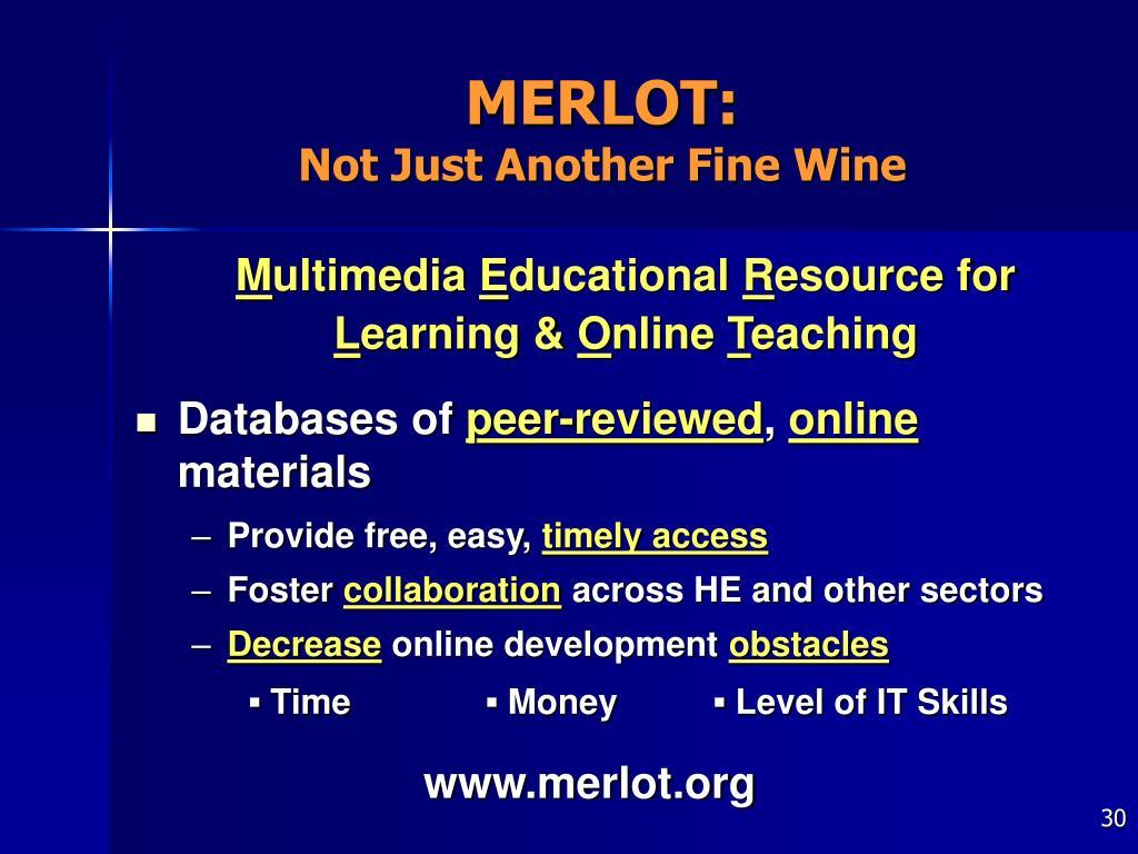 MERLOT: