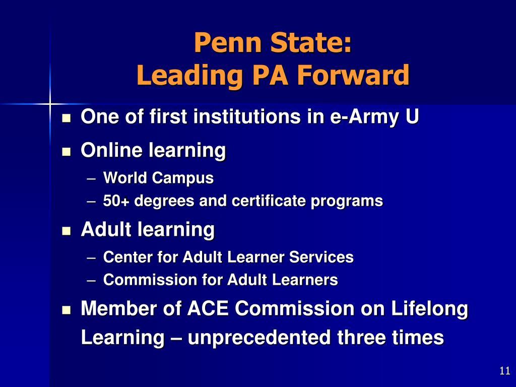 Penn State: