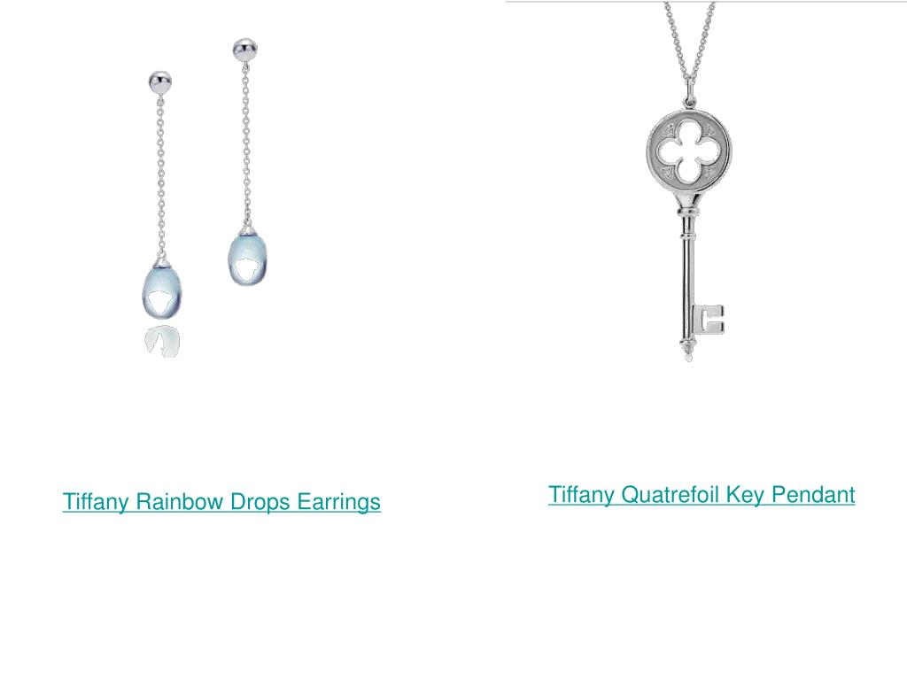 Tiffany Quatrefoil Key Pendant