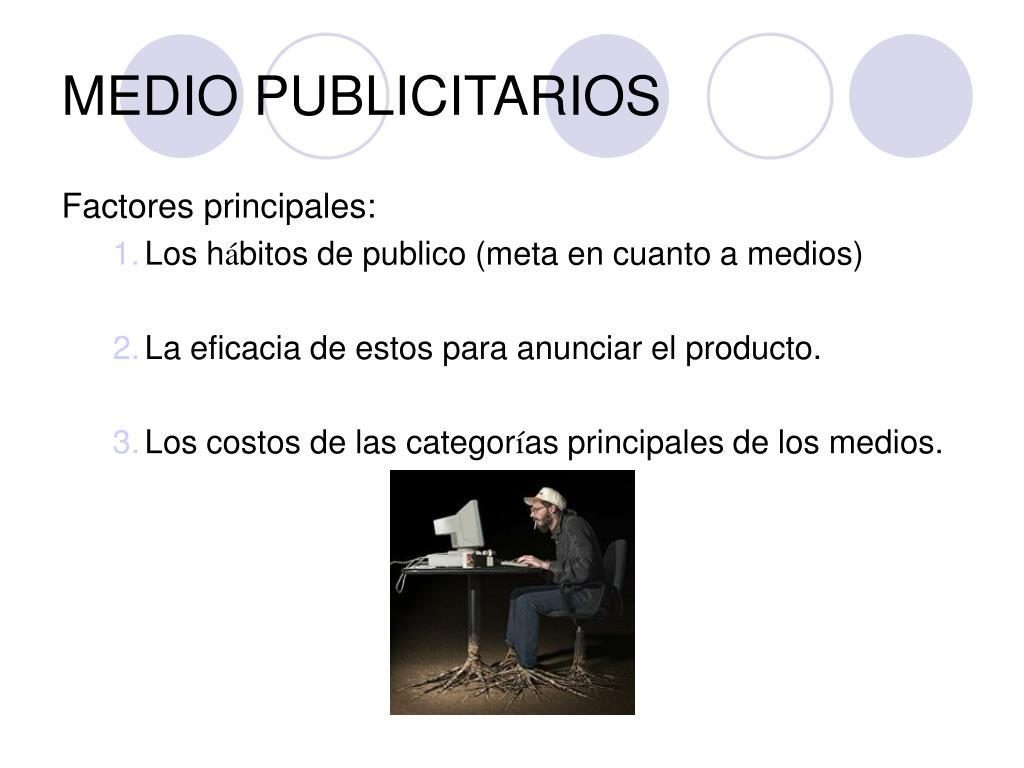 MEDIO PUBLICITARIOS