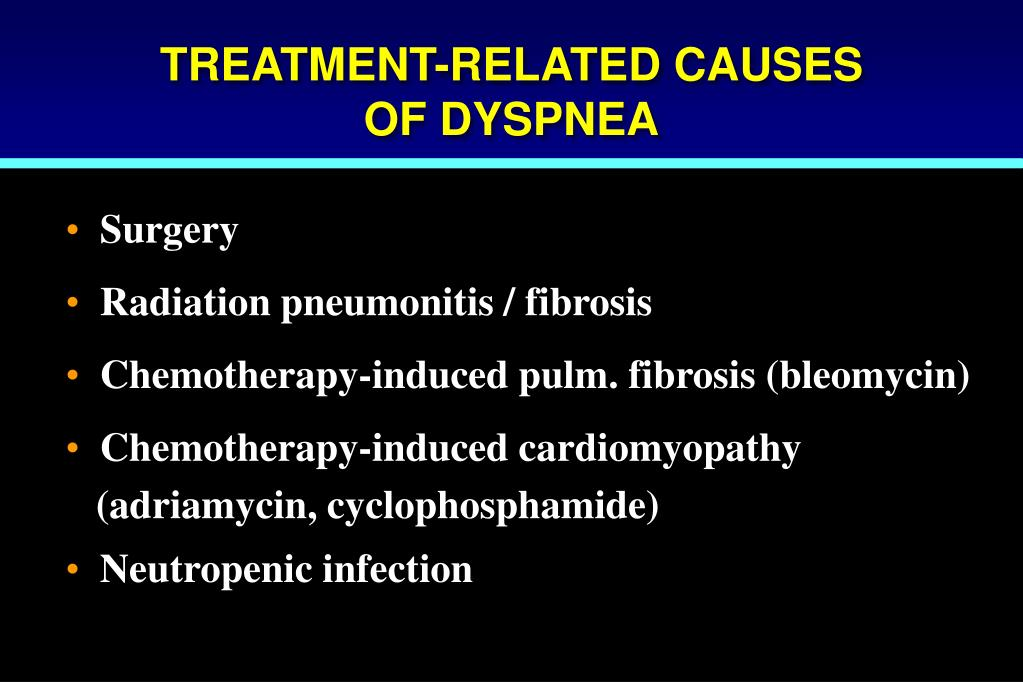 TREATMENT-RELATED CAUSES