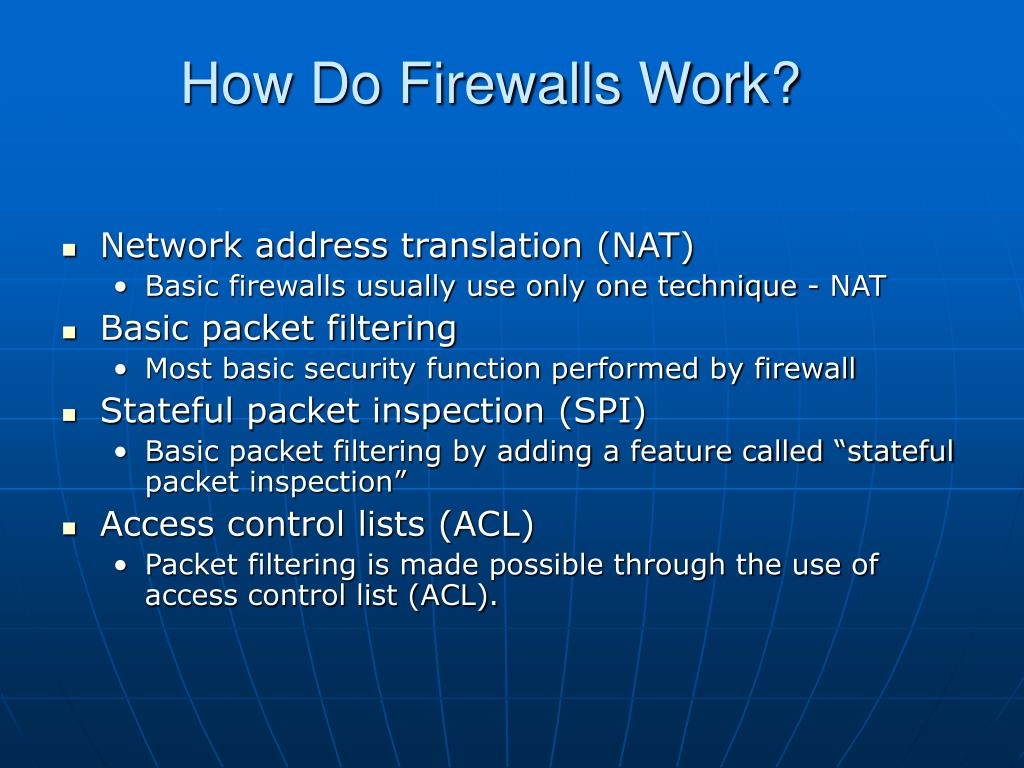 How Do Firewalls Work?