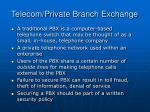 telecom private branch exchange