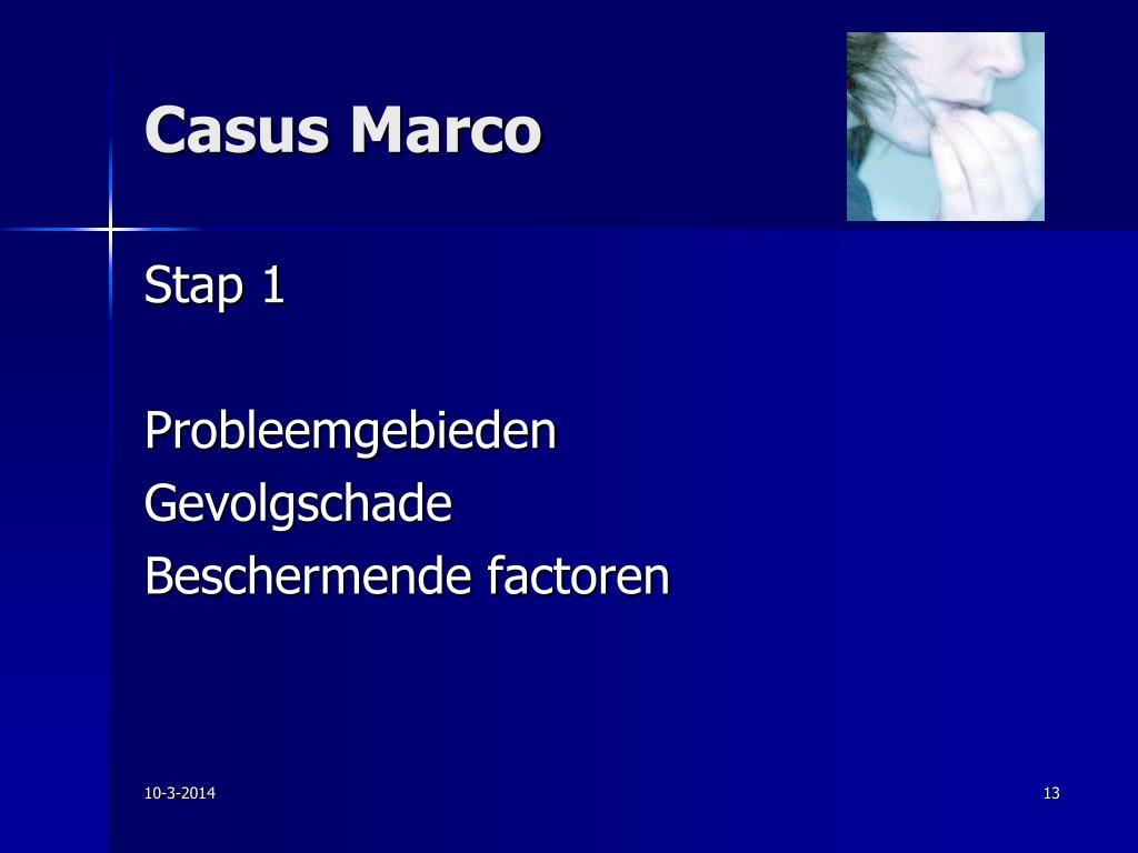 Casus Marco