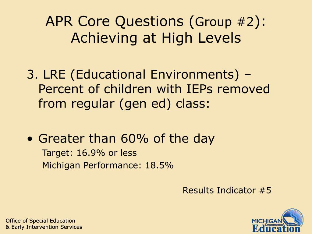 APR Core Questions (
