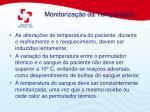 monitoriza o da temperatura