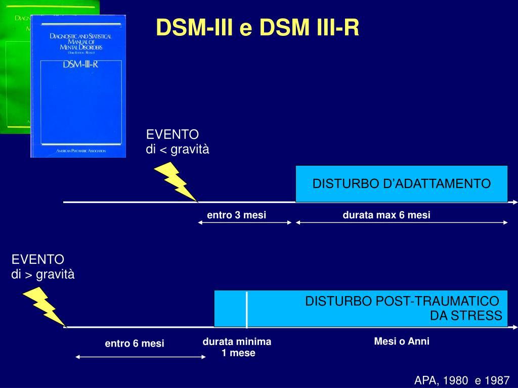 DSM-III e DSM III-R