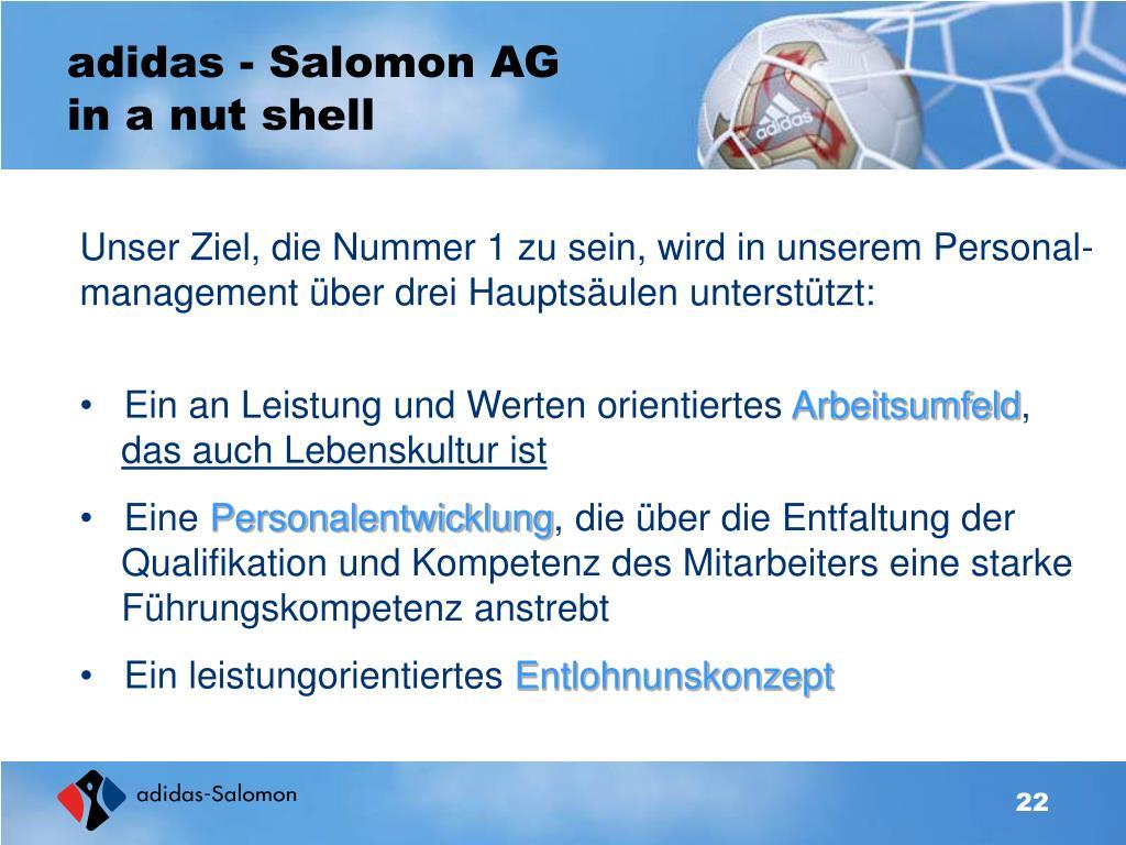 adidas - Salomon AG