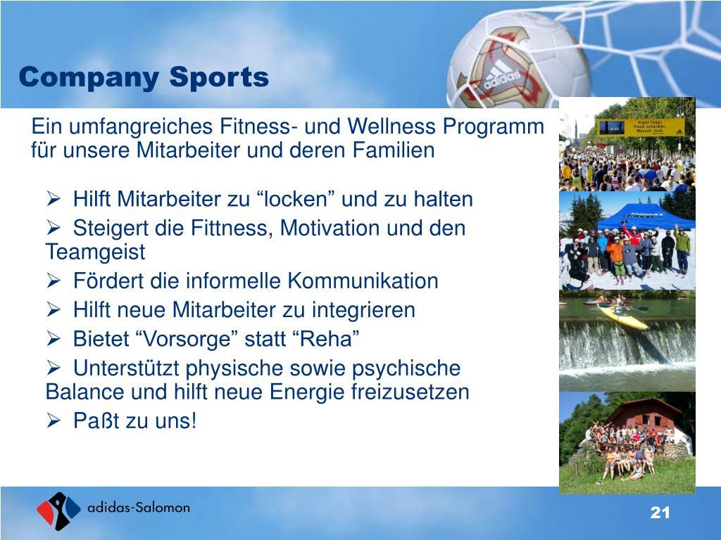 Company Sports