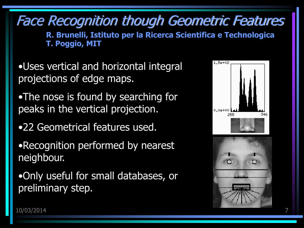 Face Recognition though Geometric Features