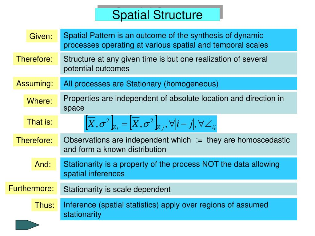 Spatial Pattern is an outcome of the synthesis of dynamic processes operating at various spatial and temporal scales