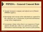 pipeda general consent rule