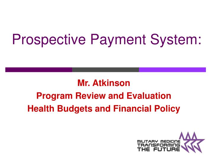 pros and cons of prospective payment systems Was the hospital prospective payment system, introduced during 1983–84   hospital prospective payment system, how hospitals responded to the new.