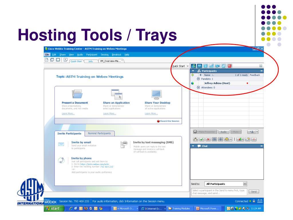 Hosting Tools / Trays
