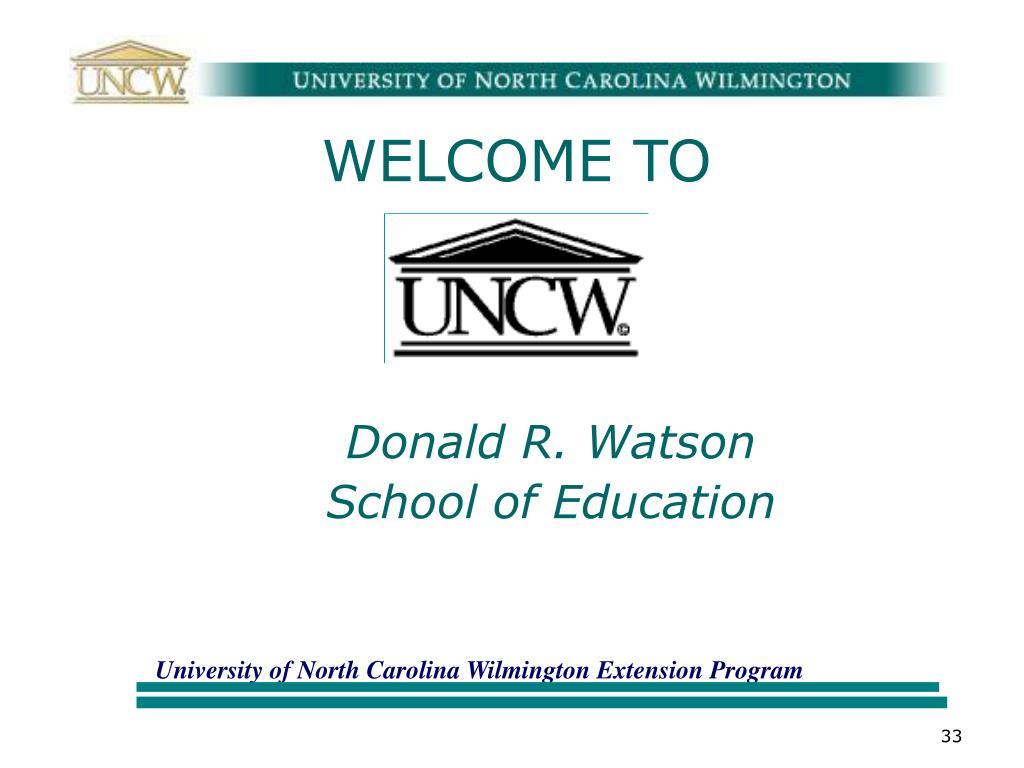 Donald R. Watson