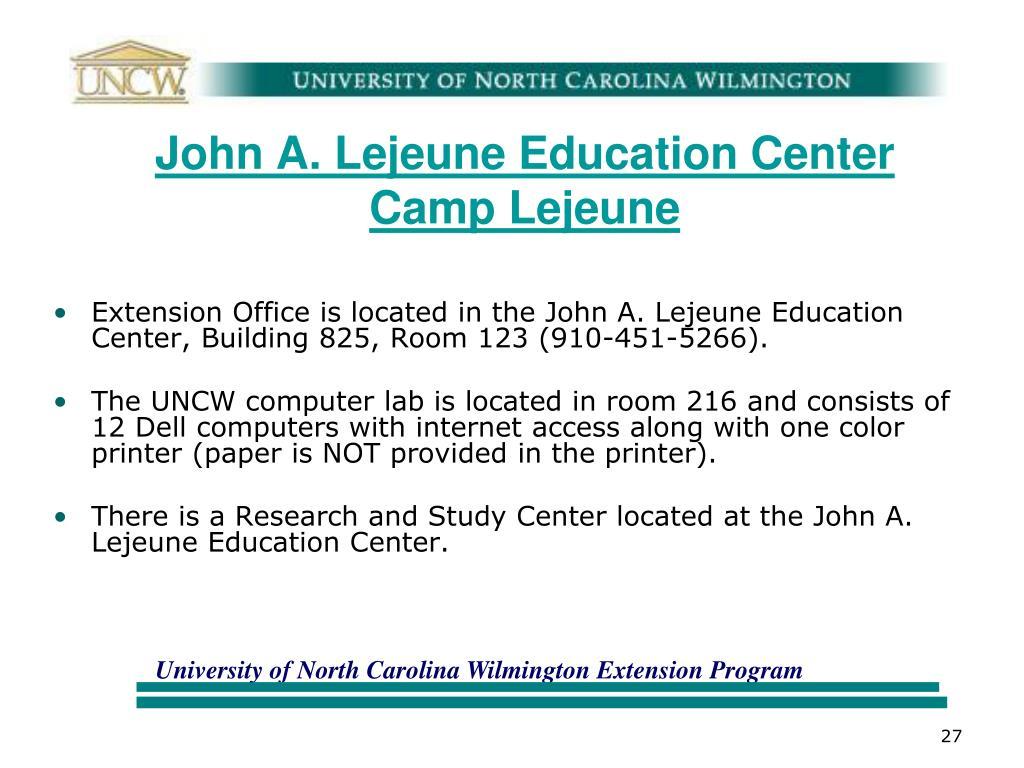 John A. Lejeune Education Center