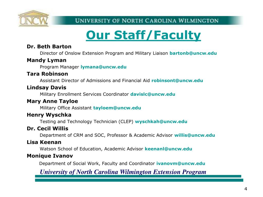 Our Staff/Faculty