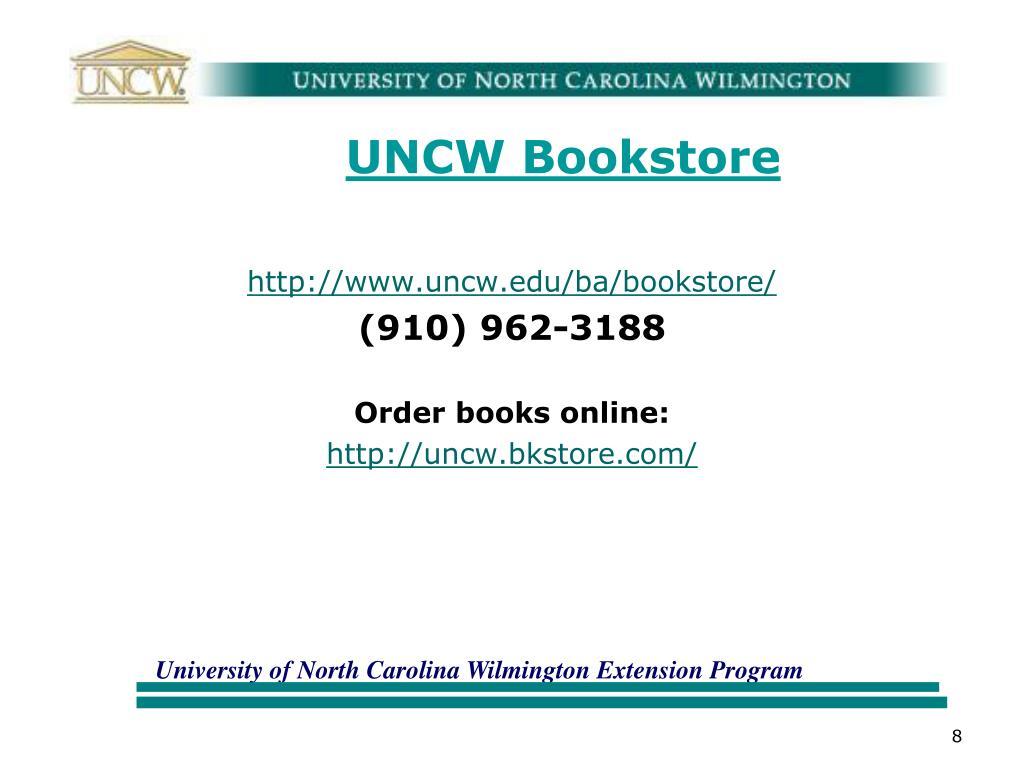 UNCW Bookstore