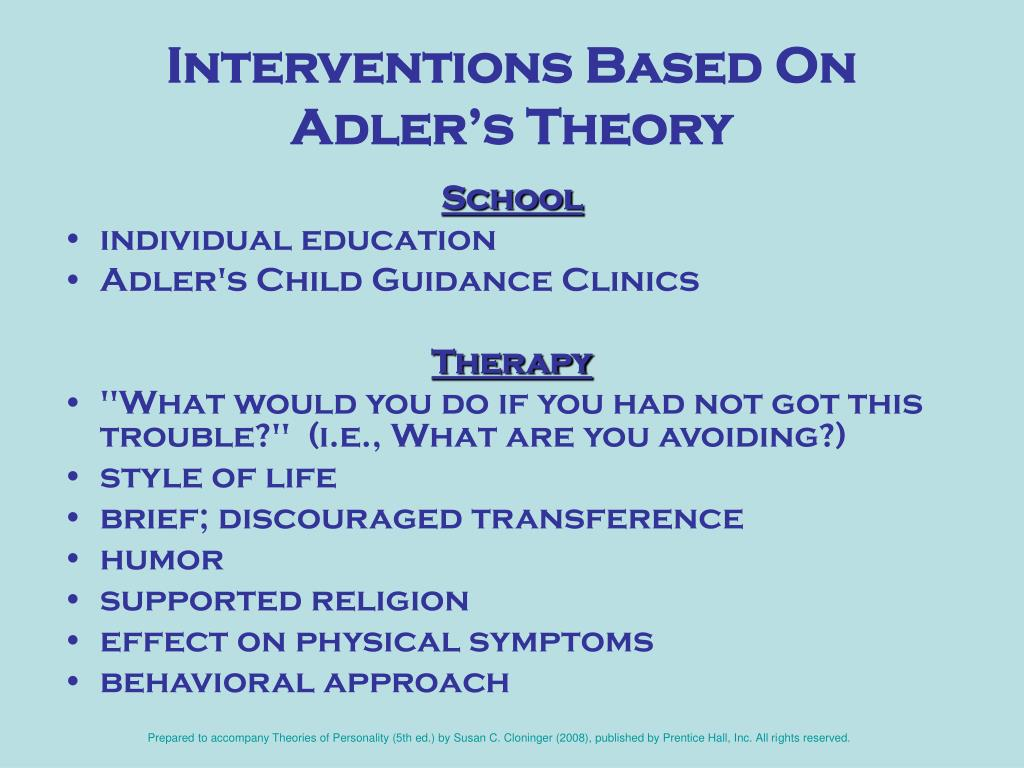 """alfred adler essay Adler's essay """"suicide"""" (1937) is an example of the increasingly scientific, non- moralizing treatment of suicide that arose with the development."""