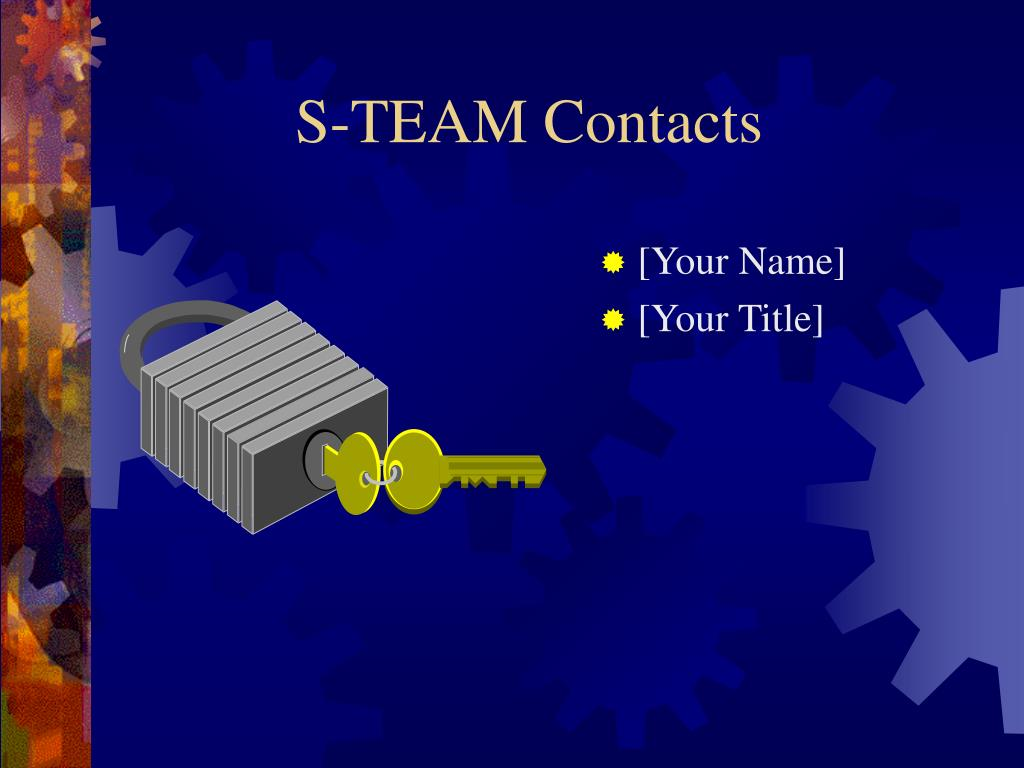 S-TEAM Contacts