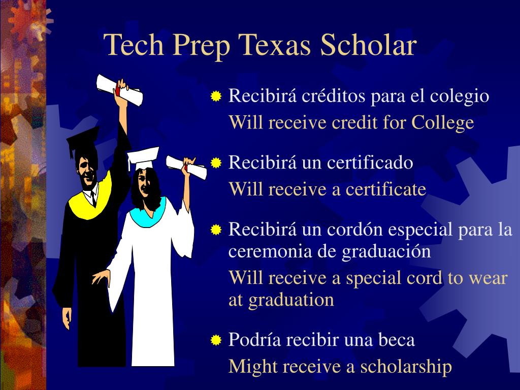 Tech Prep Texas Scholar