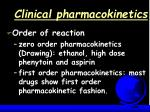 clinical pharmacokinetics57