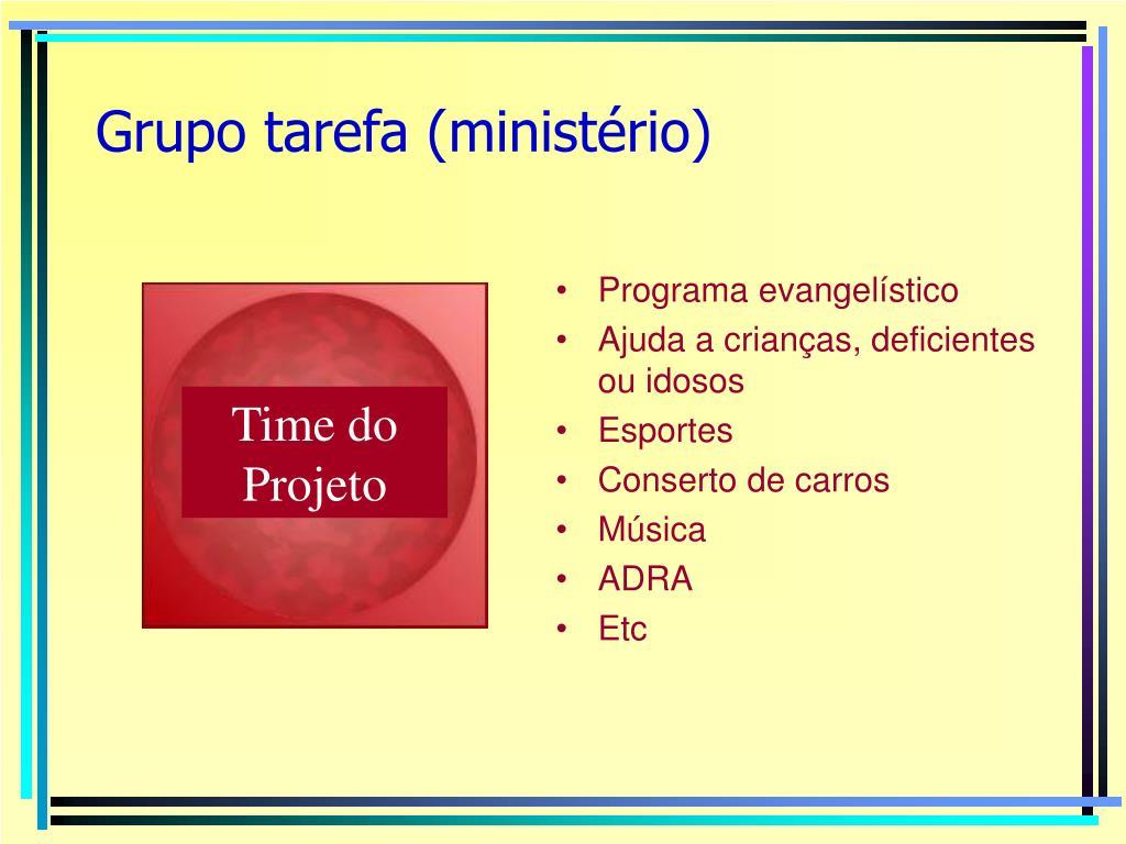 Grupo tarefa (ministério)