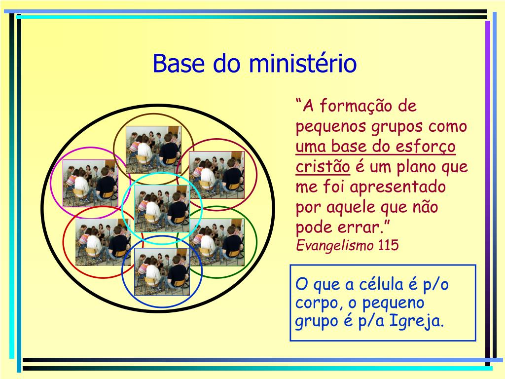 Base do ministério