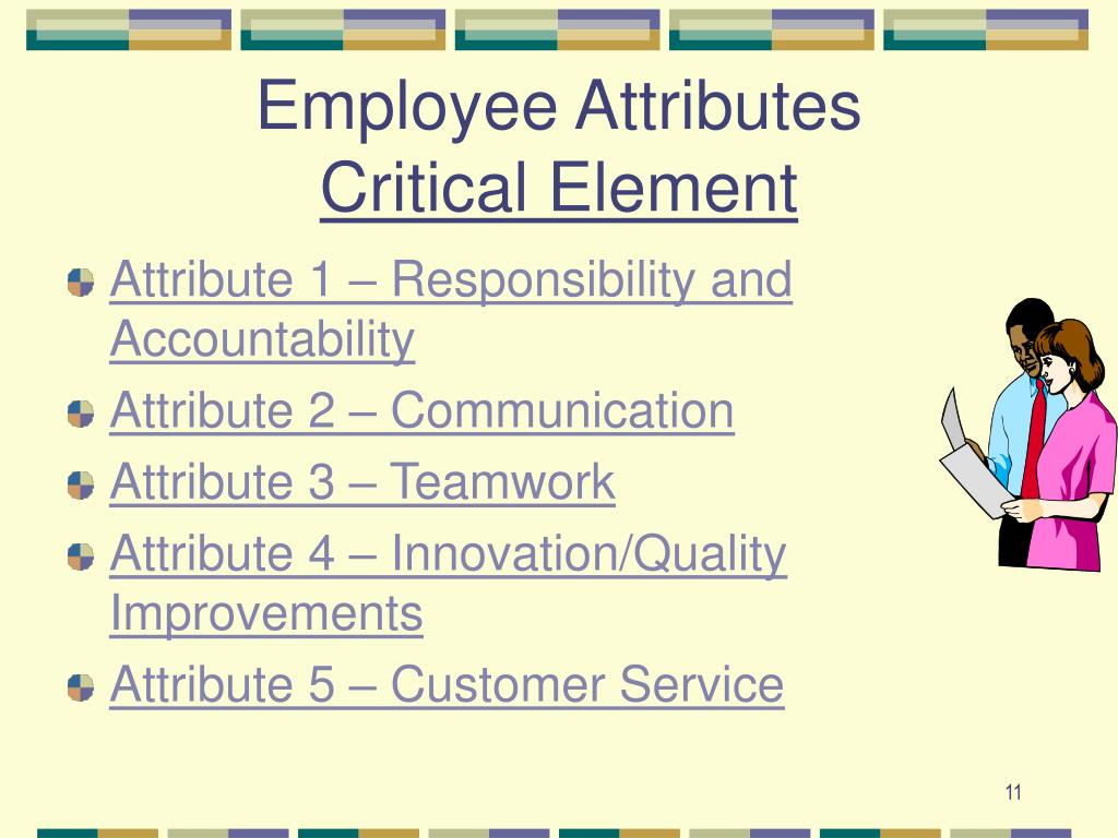 Employee Attributes