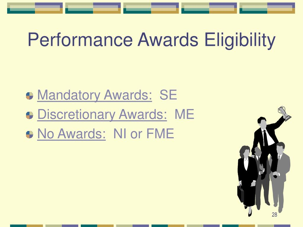 Performance Awards Eligibility
