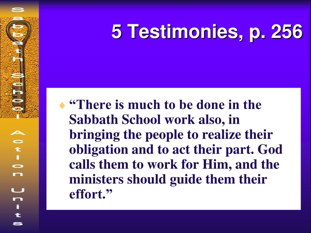 5 Testimonies, p. 256