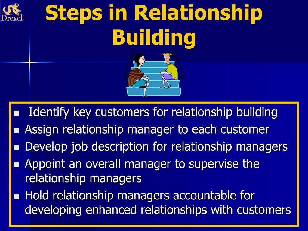 Steps in Relationship Building