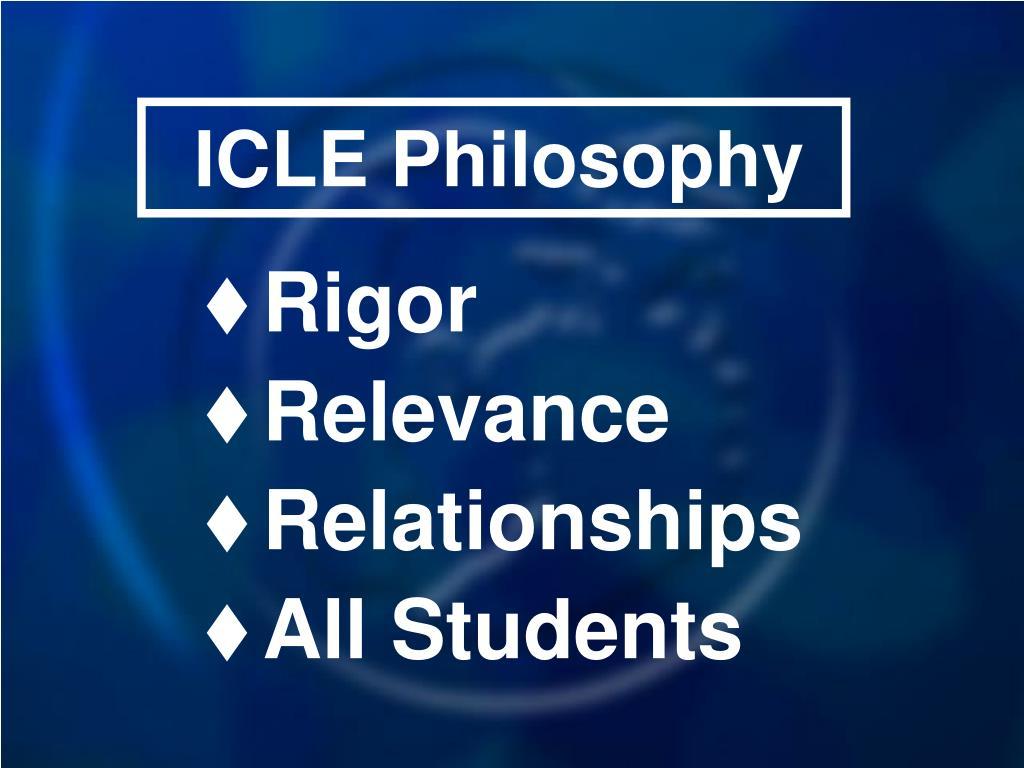 ICLE Philosophy